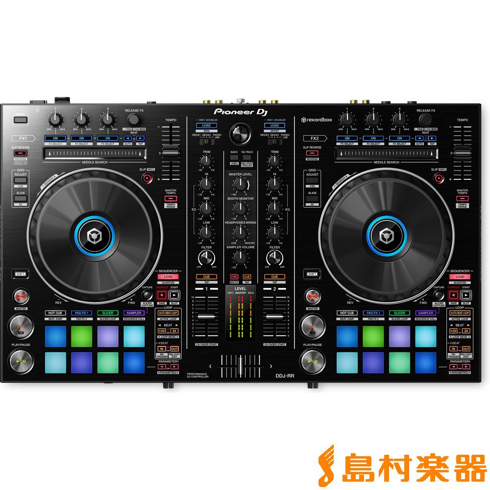 Pioneer DDJ-RR DJコントローラー rekordbox DJ 対応 【パイオニア】