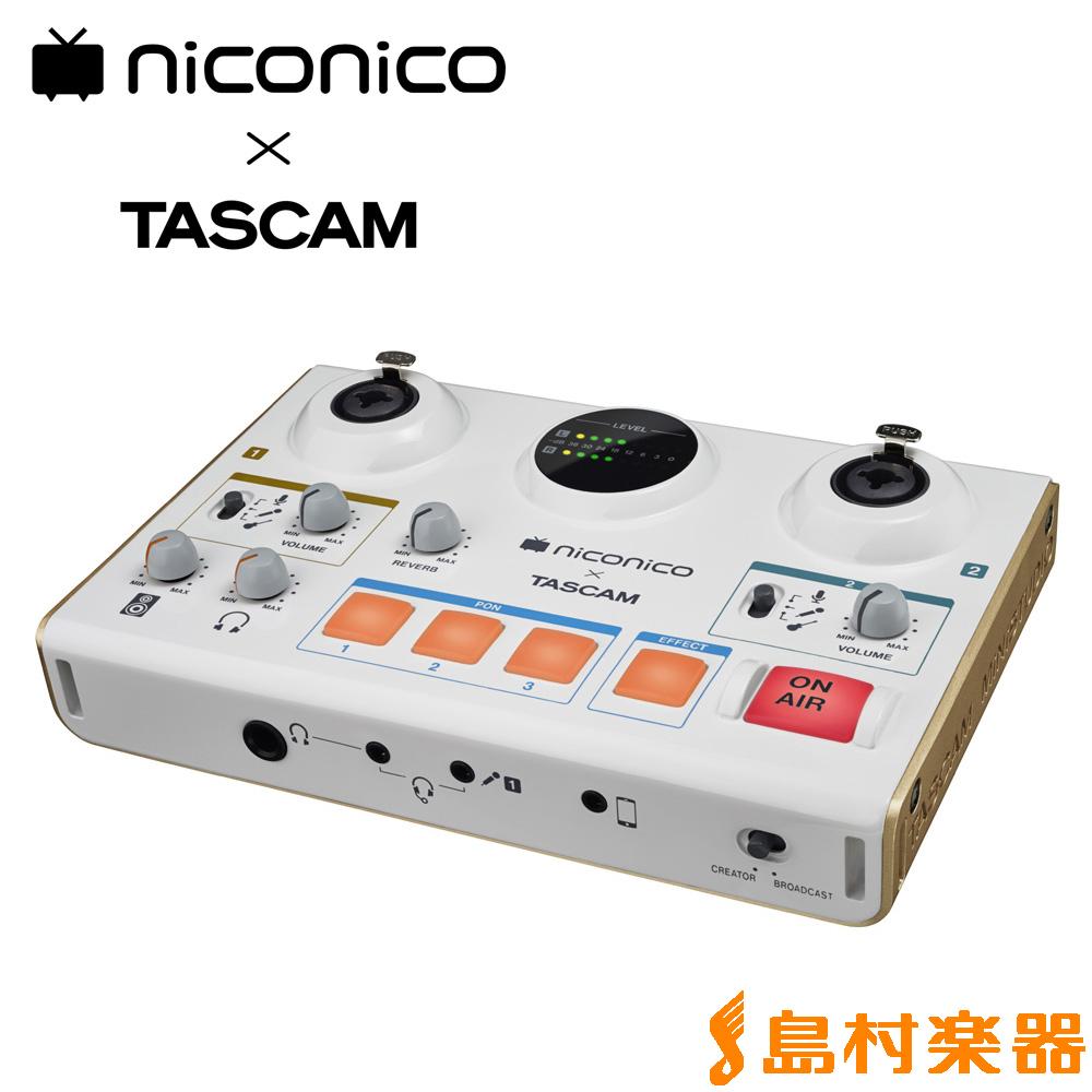 TASCAM MiNiSTUDIO CREATOR US-42 配信向け オーディオインターフェイス 【タスカム】