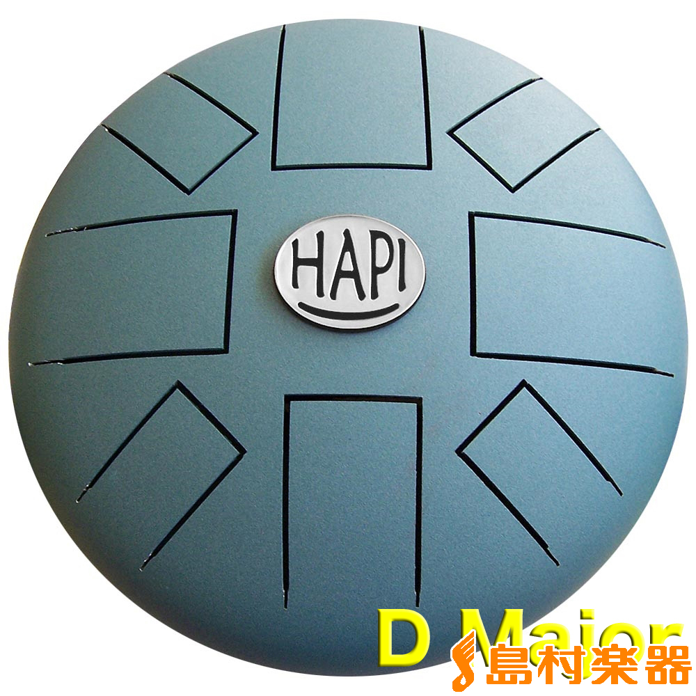 HAPI Drum HAPI-D1-G AQT(アクアティール) スリットドラム Original 【ハピドラム D1G】【Dメジャー】