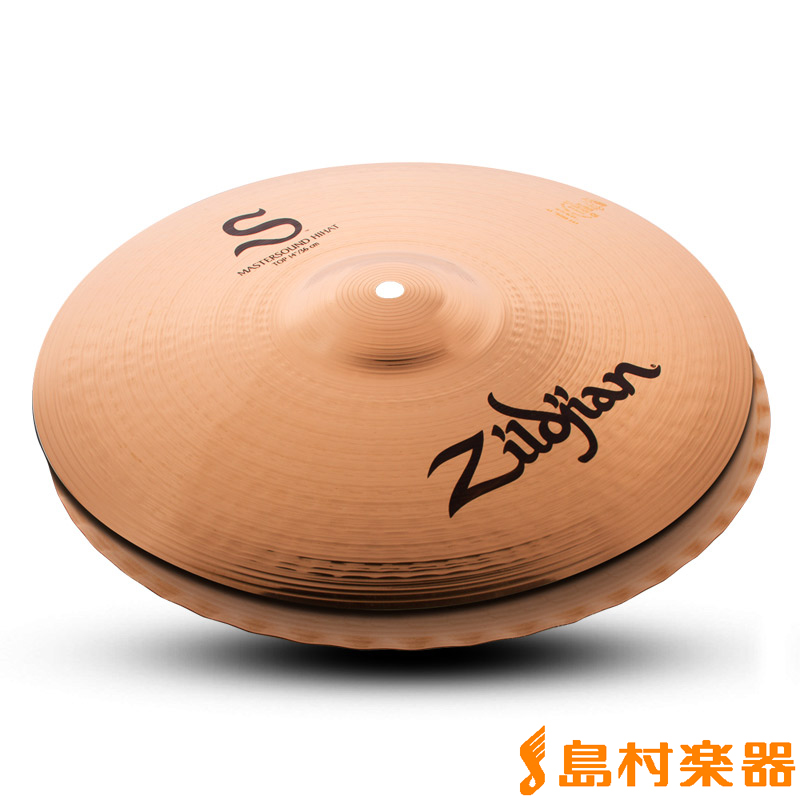 Zildjian Sシリーズ 14インチ マスターサウンド ハイハット ボトム シンバル 【ジルジャン】