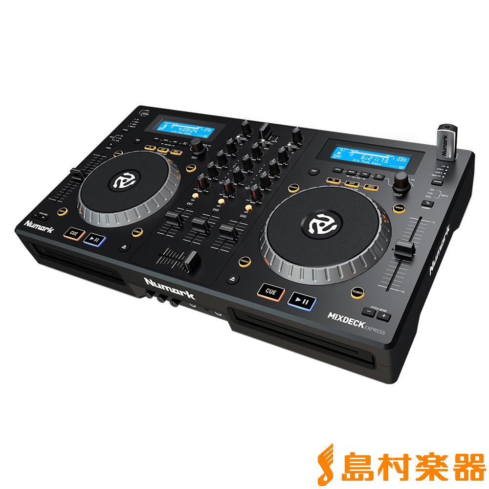 Numark Mixdeck Express DJシステム コントローラー 【ヌマーク】