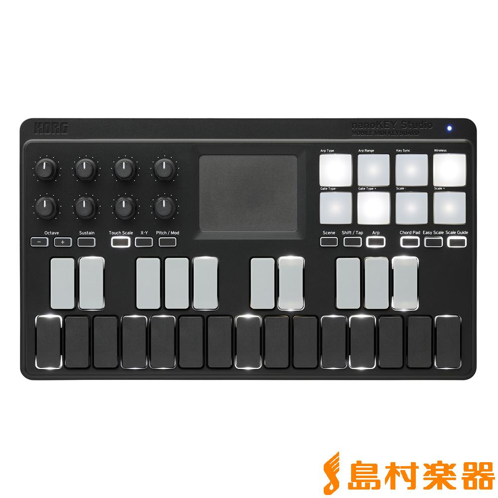 KORG nanoKEY Studio Bluetooth対応 MIDIキーボード 【コルグ】