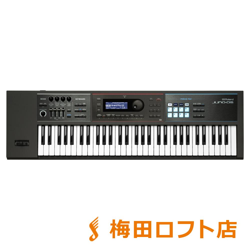 Roland JUNO-DS61 ブラック シンセサイザー 61鍵盤 【ローランド JUNODS61】【梅田ロフト店】