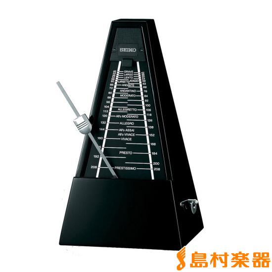 SEIKO 森の響 WPM2000 BK (ピアノブラック) 振り子式メトロノーム 【セイコー】