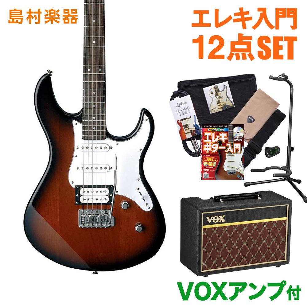 YAMAHA PACIFICA112V OVS(オールドバイオリンサンバースト) VOXアンプセット エレキギター 初心者 セット 【ヤマハ】