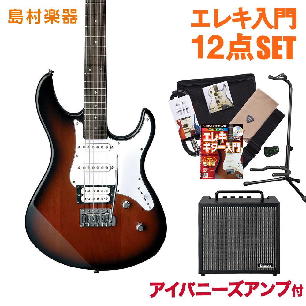 YAMAHA PACIFICA112V OVS(オールドバイオリンサンバースト) アイバニーズアンプセット エレキギター 初心者 セット 【ヤマハ】