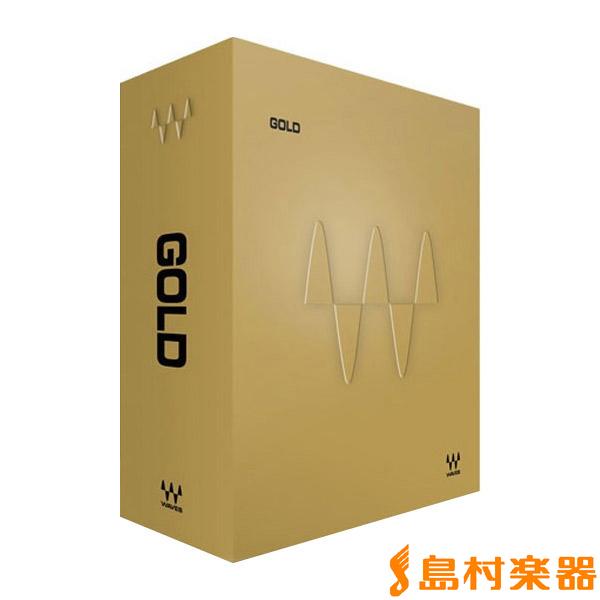 WAVES Gold ゴールド バンドル  【ウェーブス プラグインソフト】[メール納品 代引き不可]