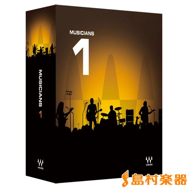 WAVES Musicians 1 バンドル プラグインソフト 【ウェーブス】【国内正規品】【ダウンロード版】