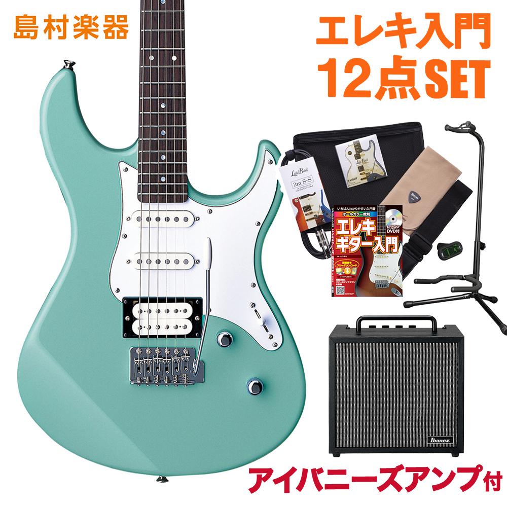 YAMAHA PACIFICA112V SOB(ソニックブルー) アイバニーズアンプセット エレキギター 初心者セット 【ヤマハ】