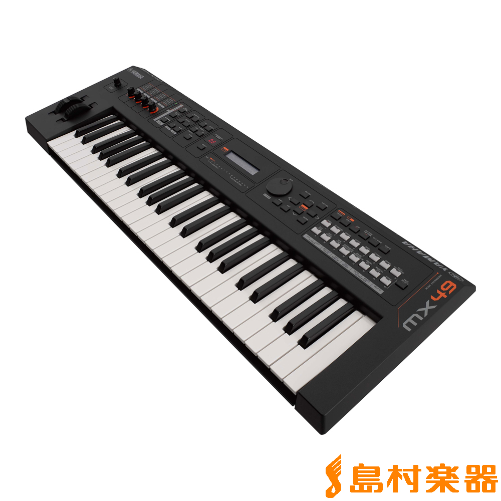 YAMAHA MX49 シンセサイザー 49鍵盤 【専用ソフトケース付属】 【ヤマハ】, ランプショップNoel 2a7c303c