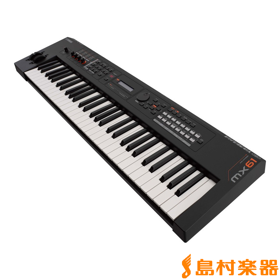 YAMAHA MX61 シンセサイザー 61鍵盤 【専用ソフトケース付属】 【ヤマハ】