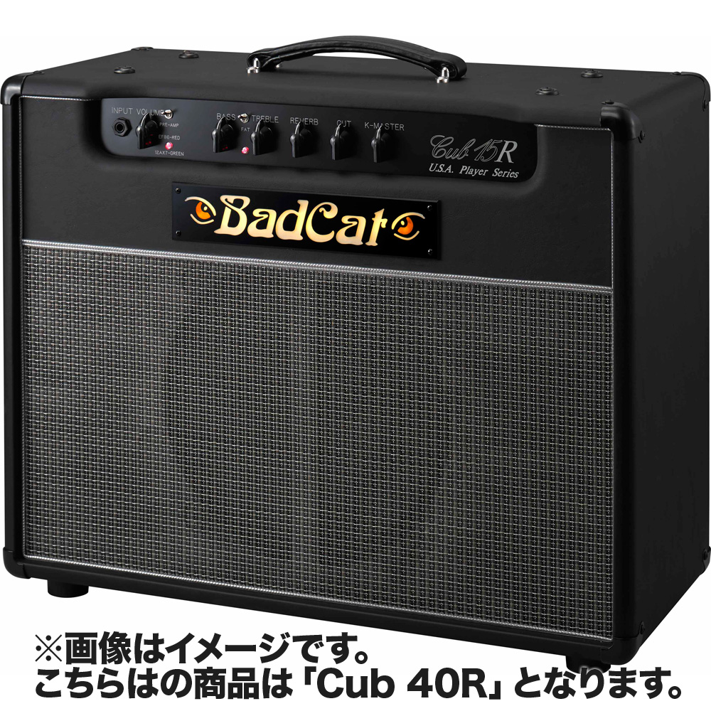 【ふるさと割】 BadCat 40R Cub 40R 112 USAPS エレキギターアンプ【USAプレイヤーシリーズ USAPS】【バッドキャット BadCat】, タガミマチ:d834a802 --- bibliahebraica.com.br