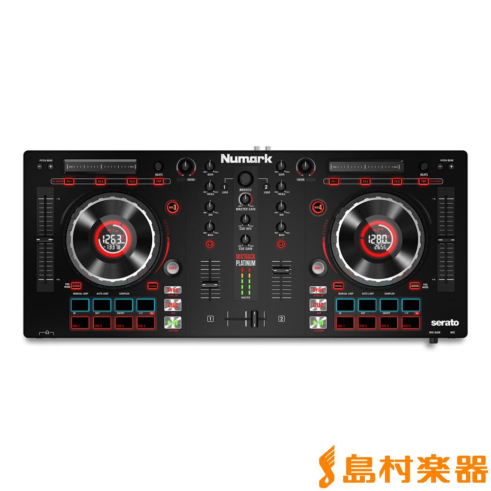 Numark Mixtrack Platinum DJコントローラー 【ヌマーク】