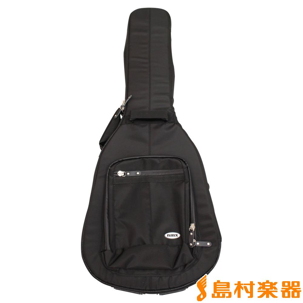 nmx オープニング 大放出セール LGB-SM-W-BLK アコースティックギター用ケース リュックタイプギターケース 通常便なら送料無料 エヌエムエックス