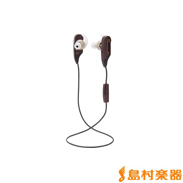 audio-technica ATH-BT12 BW(ブラウン) Bluetooth ワイヤレスイヤホン 【オーディオテクニカ ATHBT12】