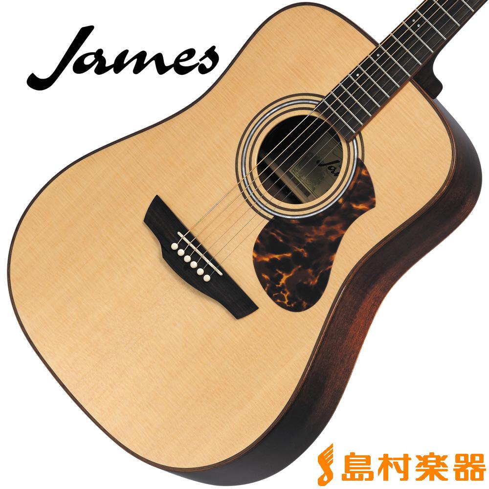 James J-800D NAT(ナチュラル) アコースティックギター 【ジェームス J800D】