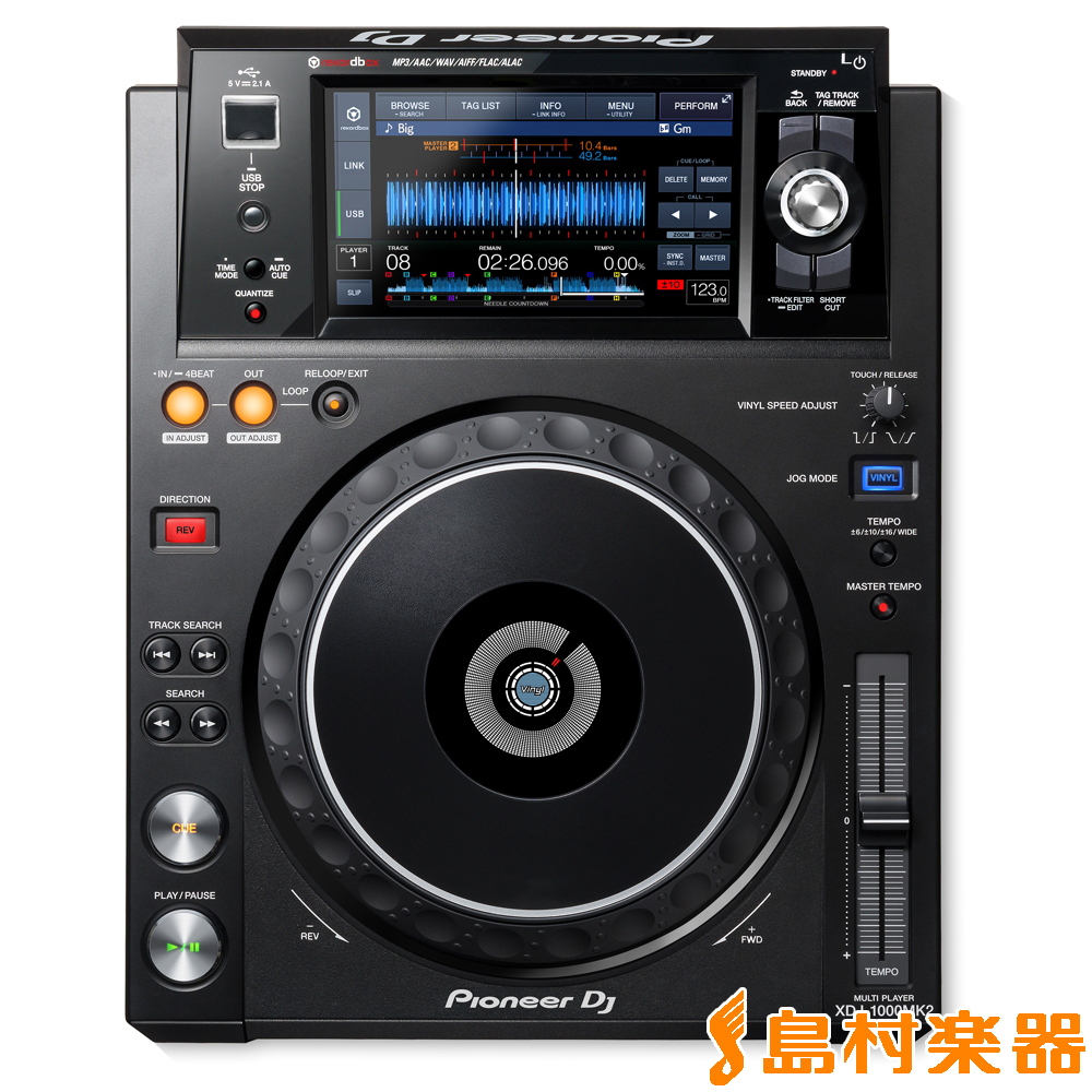 Pioneer DJ XDJ-1000Mk2 マルチメディアプレーヤー Pioneer DJ【パイオニア XDJ-1000Mk2】, カミシヒムラ:6d371065 --- officewill.xsrv.jp