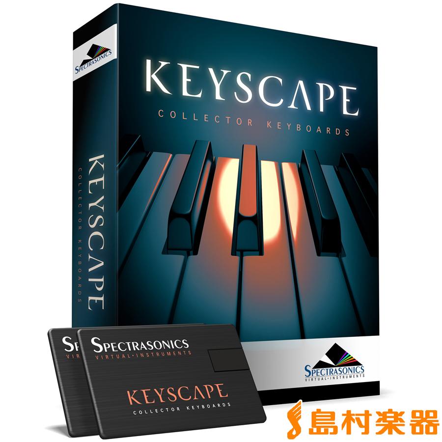 Spectrasonics Keyscape 【USB Drive】 プラグインソフト 【スペクトラソニックス】【国内正規品】