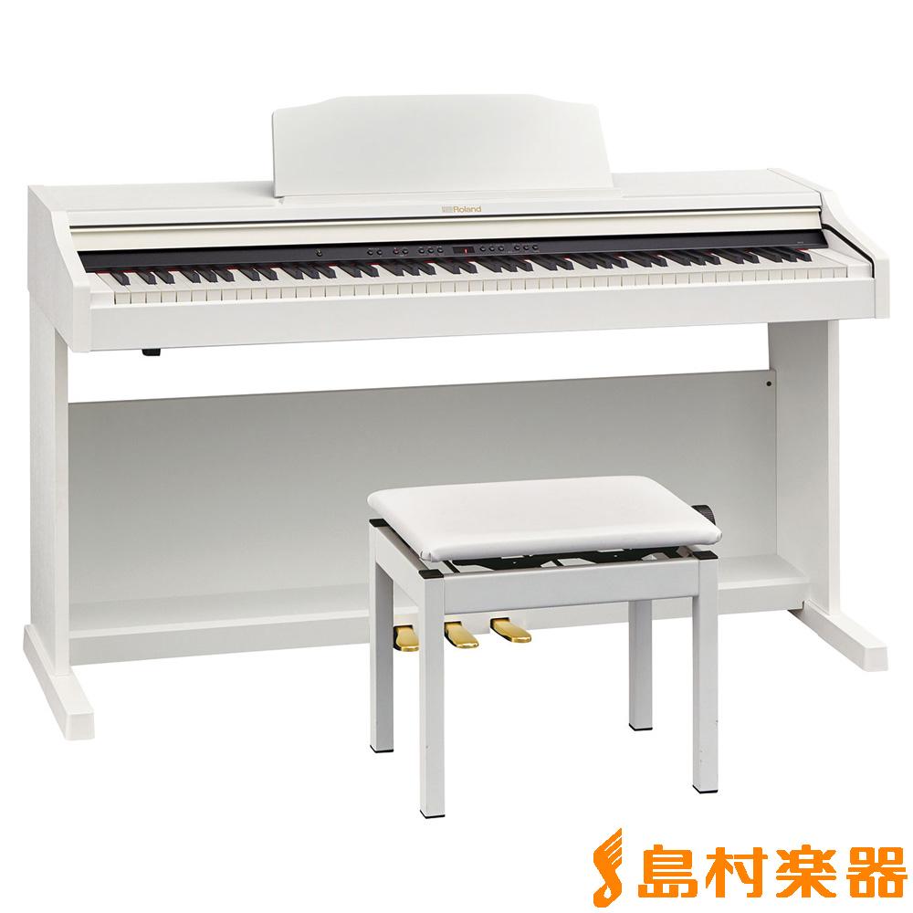 Roland RP501R WHS(ホワイト) 電子ピアノ 88鍵盤 【ローランド】【配送設置無料・代引き払い不可】【別売り延長保証対応プラン:E】