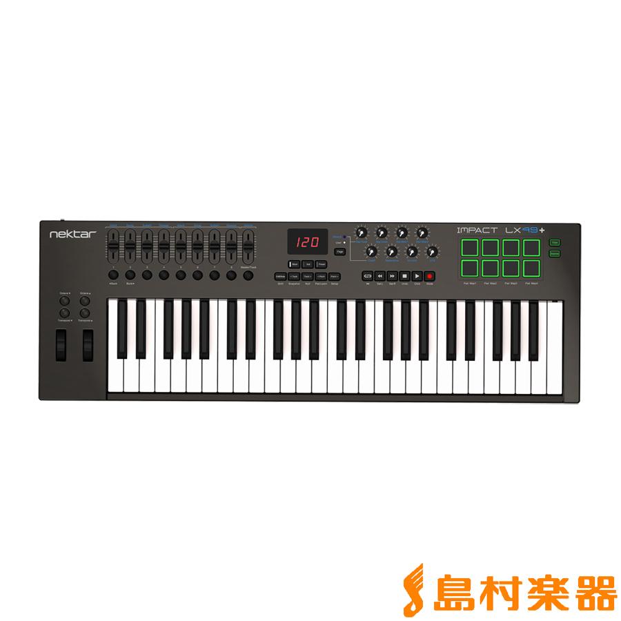 Nektar Technology Impact LX49+ MIDIキーボードコントローラー 49鍵盤 【ネクターテクノロジー】