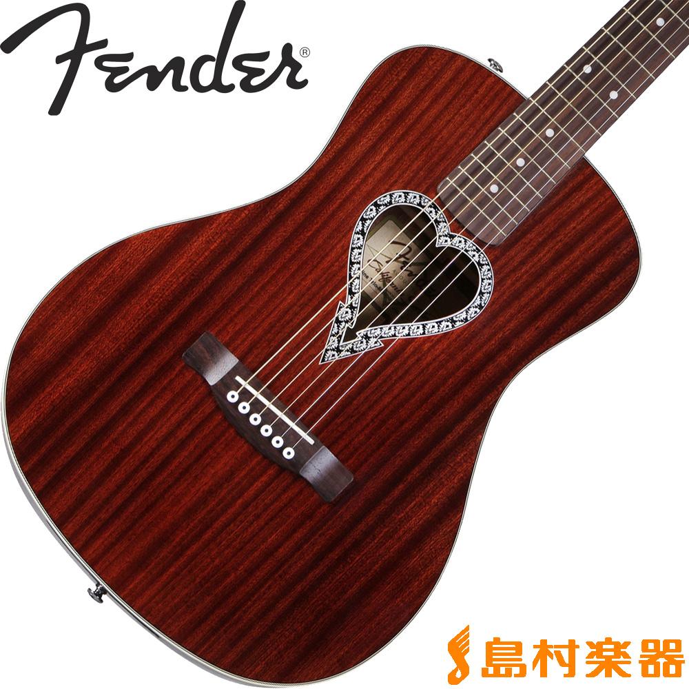 Fender Alkaline Trio Malibu MH アコースティックギター 【フェンダー】