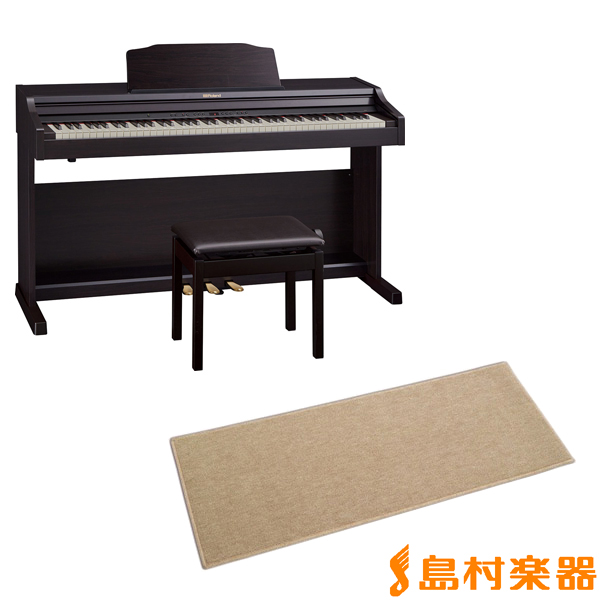 Roland RP501R CRS カーペット(小)セット 電子ピアノ 88鍵盤 【ローランド】【配送設置無料・代引き払い不可】【別売り延長保証対応プラン:E】