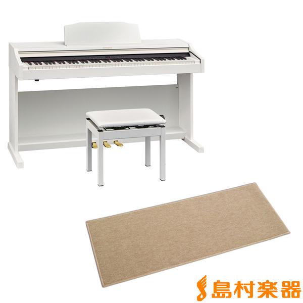Roland RP501R WHS カーペット(小)セット 電子ピアノ 88鍵盤 【ローランド】【配送設置無料・代引き払い不可】【別売り延長保証対応プラン:E】
