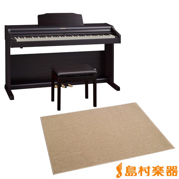 Roland RP501R CRS カーペット(大)セット 電子ピアノ 88鍵盤 【ローランド】【配送設置無料・代引き払い不可】【別売り延長保証対応プラン:E】