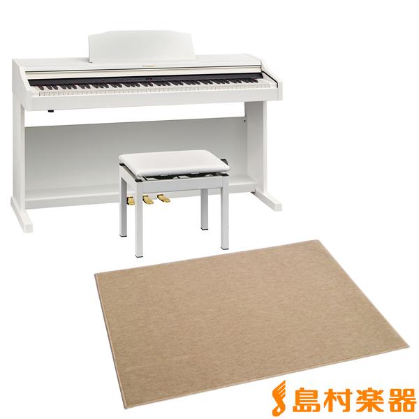 Roland RP501R WHS カーペット(大)セット 電子ピアノ 88鍵盤 【ローランド】【配送設置無料・代引き払い不可】【別売り延長保証対応プラン:E】