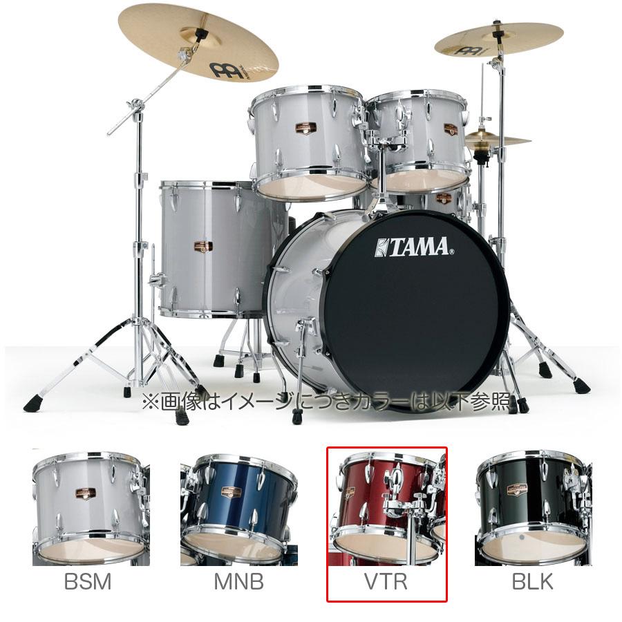 TAMA IP52H6HC VTR ドラムセット シンバル付き 【バスドラム22インチ仕様】 【タマ IMPERIALSTAR/インペリアルスター】
