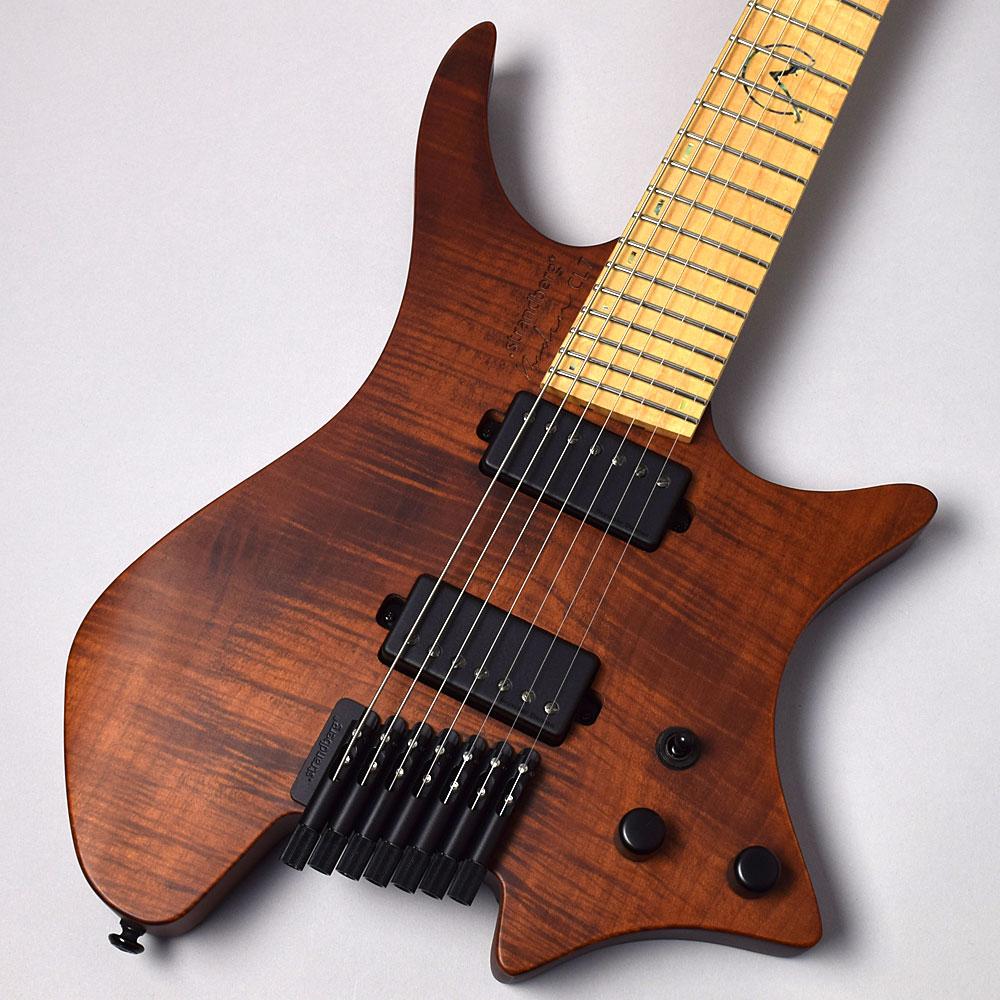 Strandberg Boden OS CL7 Chris Letchford Signature/Brown ヘッドレスギター/Djentギター 【ストランドバーグ】【福岡イムズ店】【新品特価】