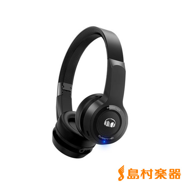 MONSTER CLARITY HD Wireless ON-Ear ブラック ワイヤレスヘッドホン 【モンスター MH CLY ON BT】【国内正規品】