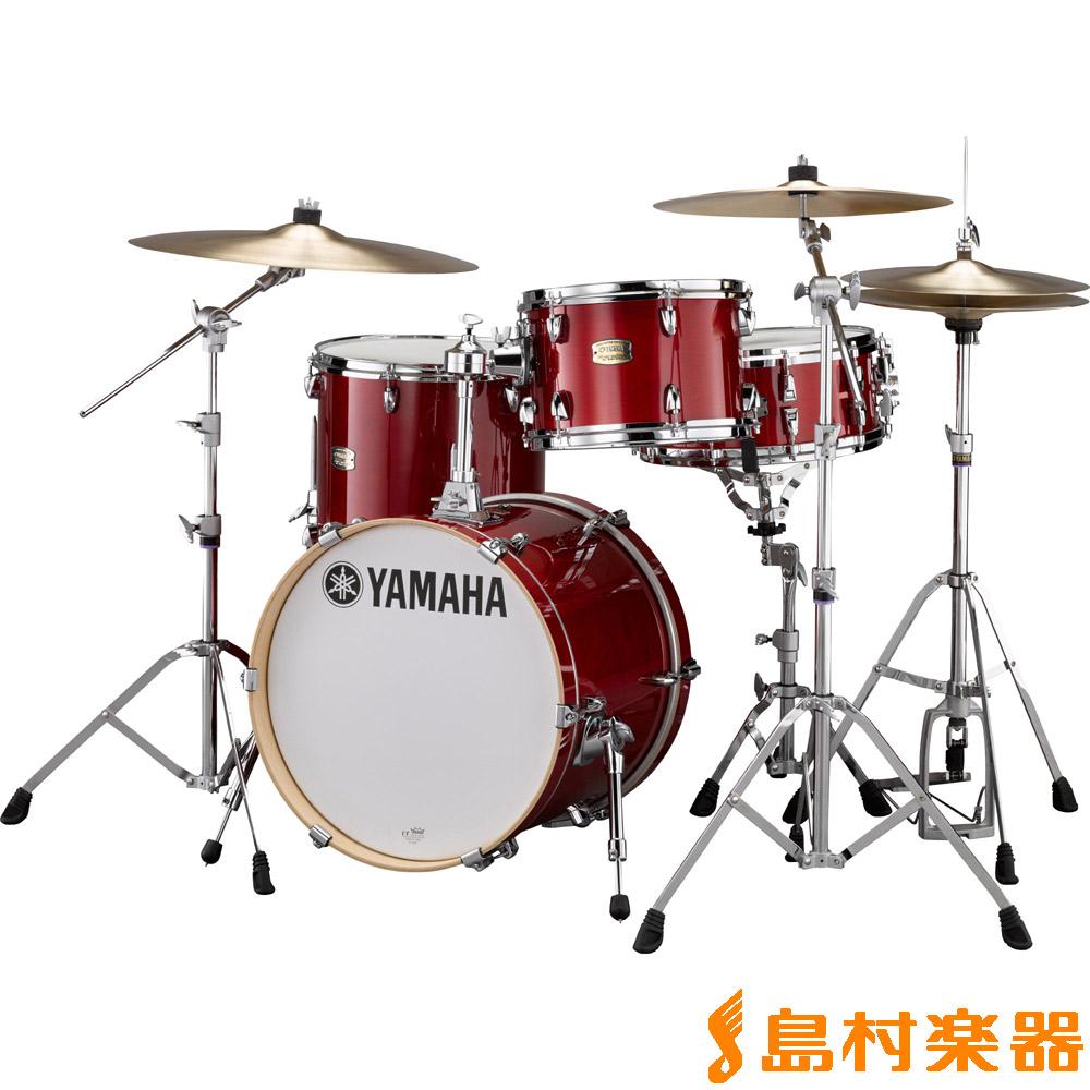 YAMAHA StageCustomBopKitセット CR アコースティックドラムフルセット【小口径】 【ヤマハ】【島村楽器オリジナルセット】