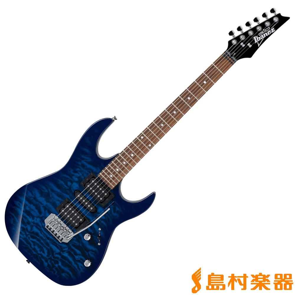 Gio Ibanez GRX70QA TBB エレキギター 【ジオ アイバニーズ】【純正アクセサリーキット付属】