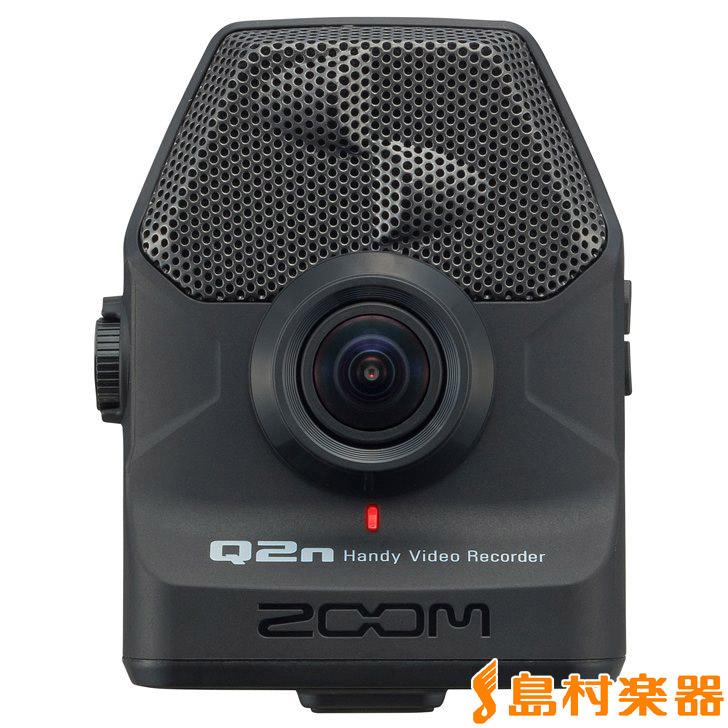 ZOOM Q2n (ブラック) Handy Video Recorder ハンディービデオレコーダー 【ズーム】