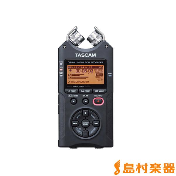 TASCAM DR-40 VER2-J リニアPCMレコーダー 【タスカム】