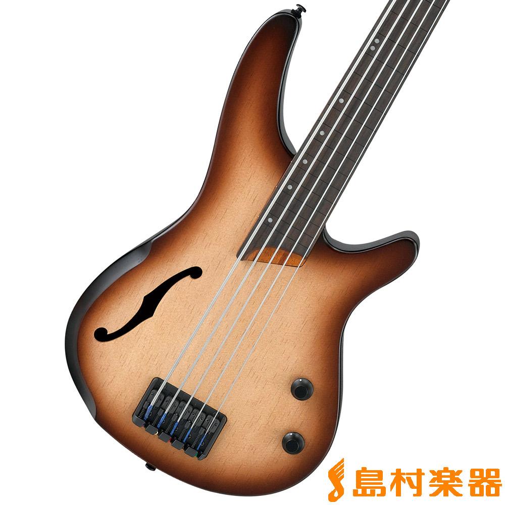 Ibanez SRH505F NNF ベース 5弦 セミホロウボディ フレットレス 【アイバニーズ】