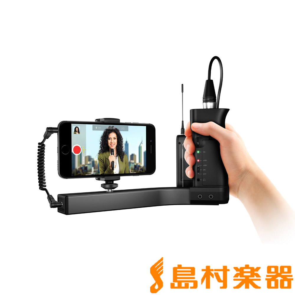 IK Multimedia iKlip A/V スマートフォン用グリップ 【IKマルチメディア】