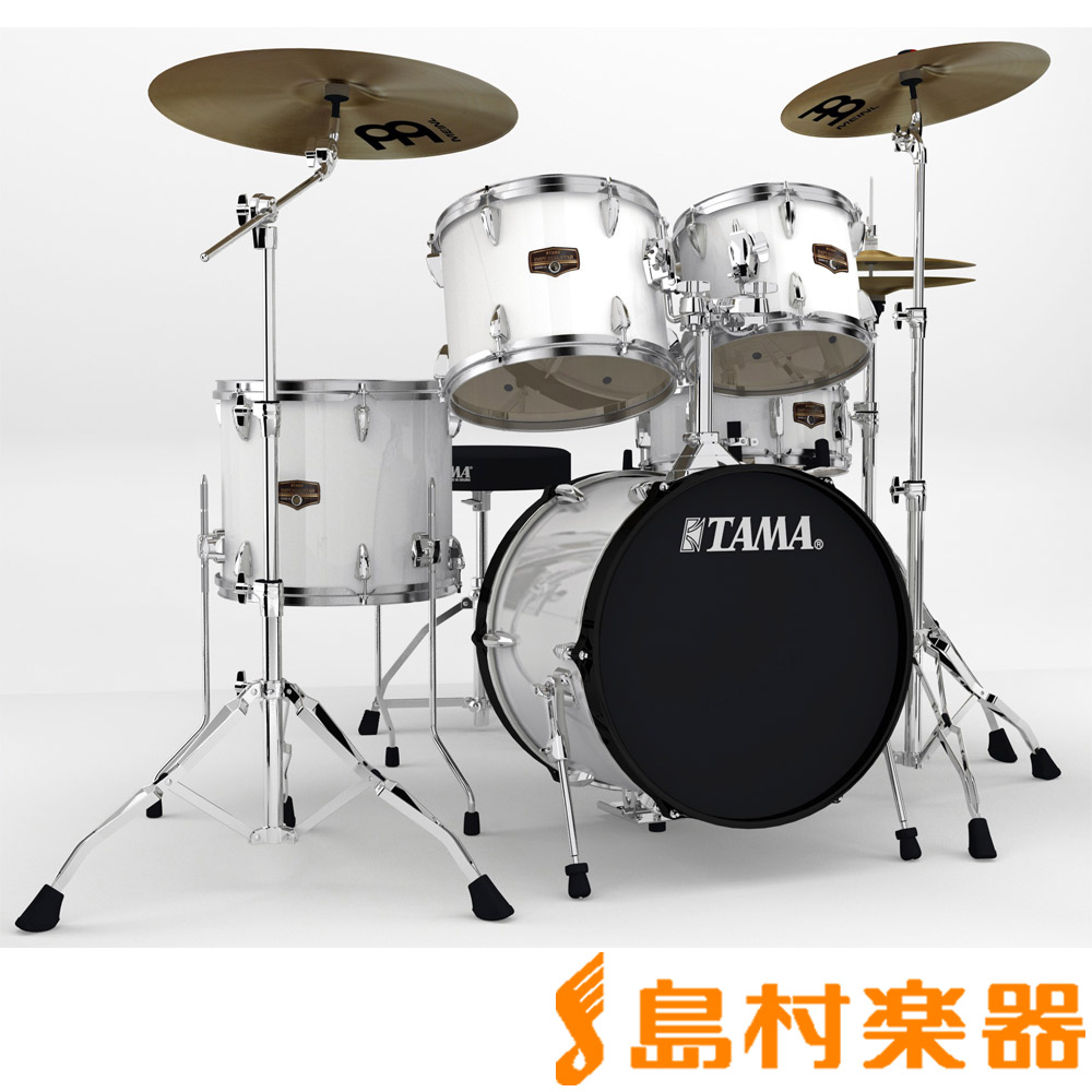 TAMA IP58H6HC SGW ドラムセット シンバル付き 【バスドラム18インチ小口径仕様】 【タマ IMPERIALSTAR/インペリアルスター】