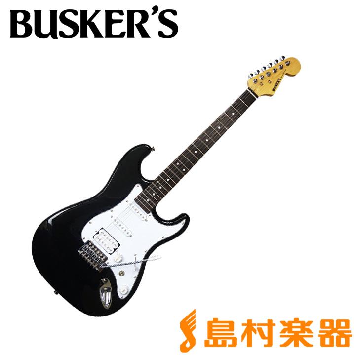 BUSKER'S BST-3H BK エレキギター 【バスカーズ】