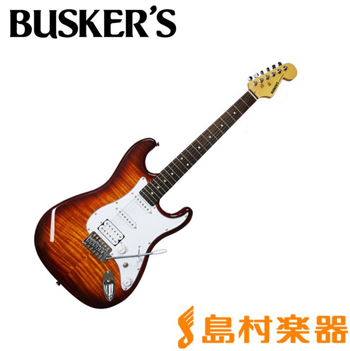 BUSKER'S BST-3H/FM HB エレキギター 【バスカーズ】