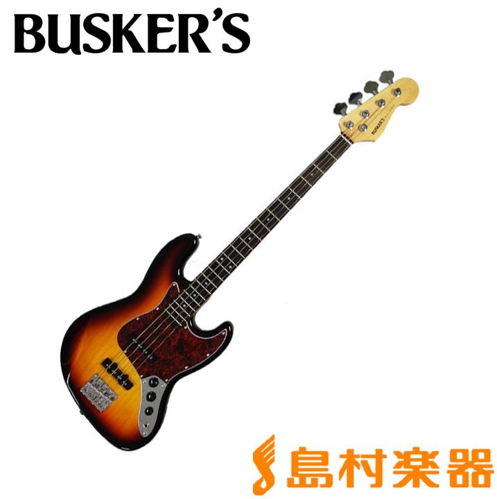 BUSKER'S BJB-3 3TS ベース 【バスカーズ】