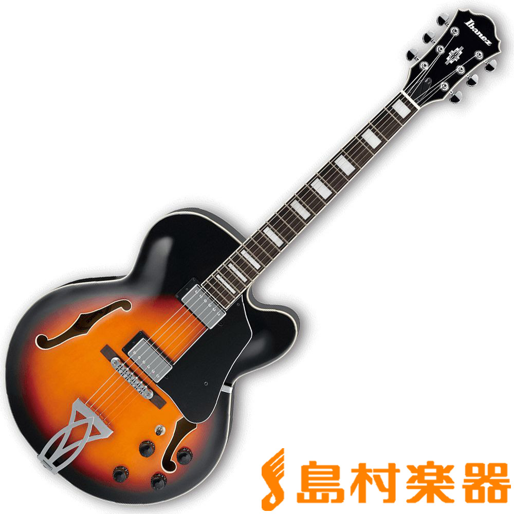 Ibanez AF75 BS フルアコギター/Artcore 【アイバニーズ】