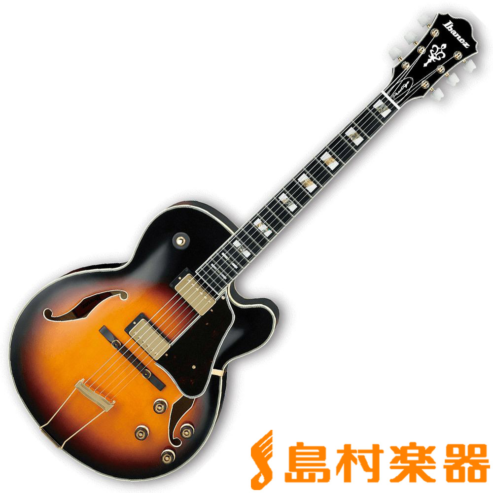 Ibanez AF200 BS フルアコギター 【アイバニーズ】