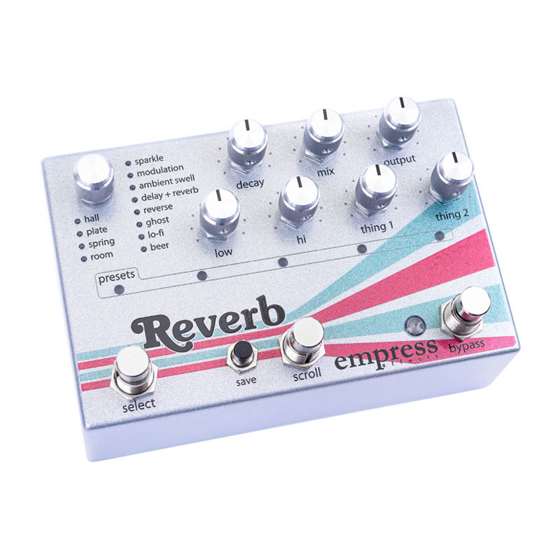 empress effects Reverb High-Quality Stereo Reverb リバーブ エフェクター 【エンプレスエフェクト】