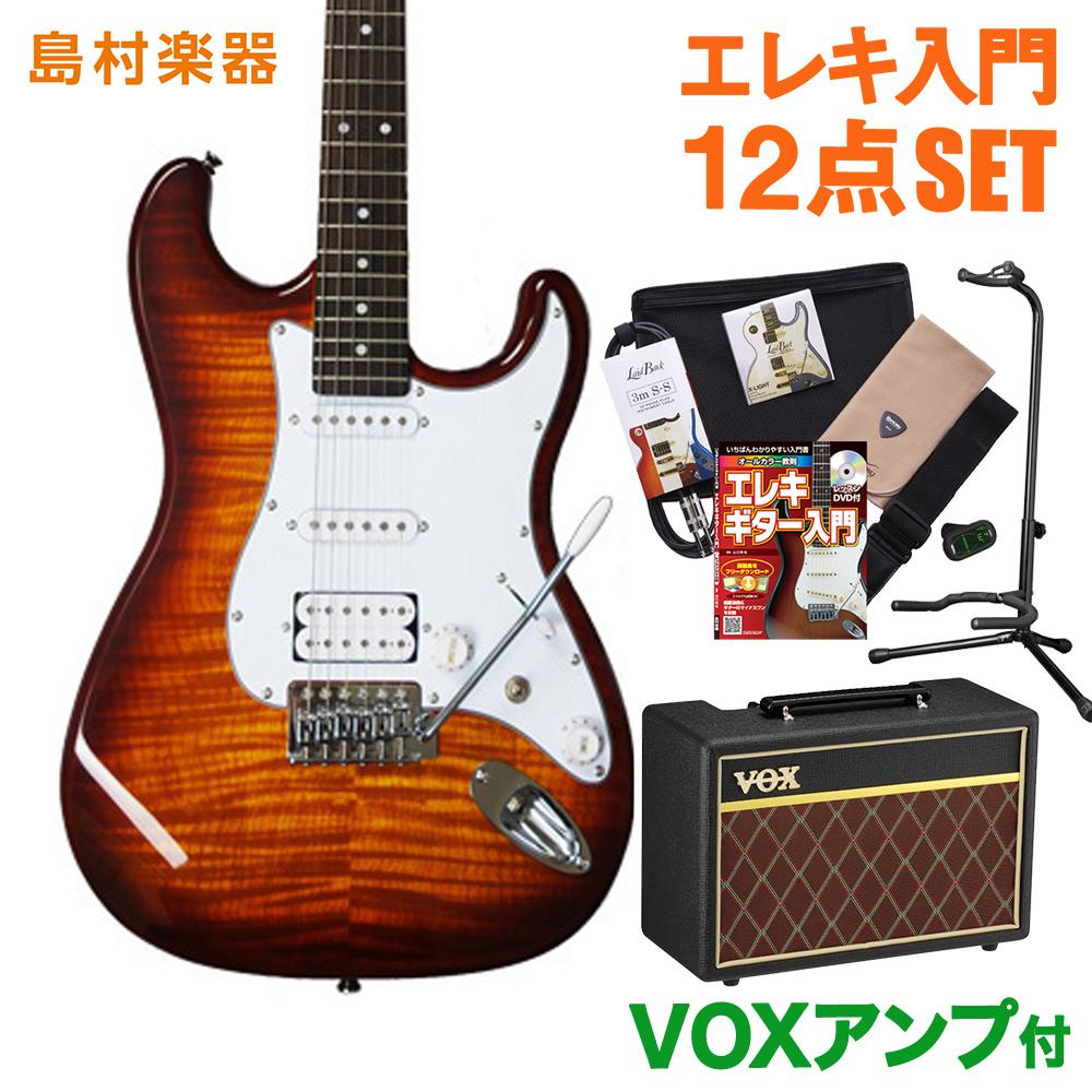 BUSKER'S BST-3H/FM HB VOXアンプセット エレキギター 初心者 セット 【バスカーズ】