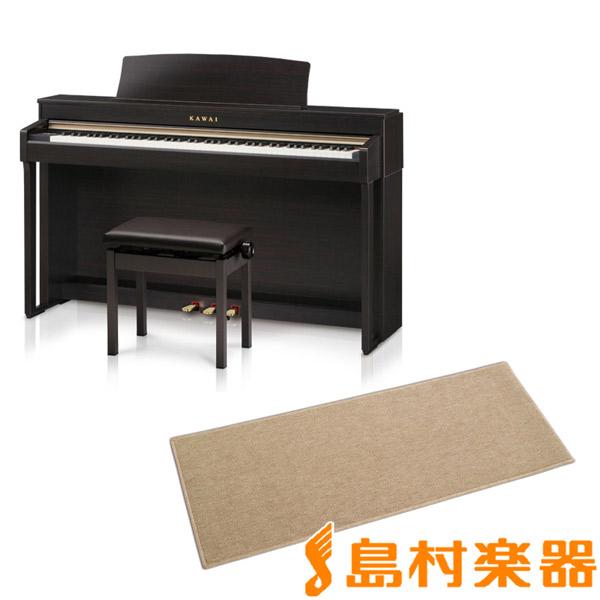 KAWAI CN37R カーペット(小)セット 電子ピアノ 88鍵盤 【カワイ】【配送設置無料・代引き払い不可】【別売り延長保証対応プラン:D】
