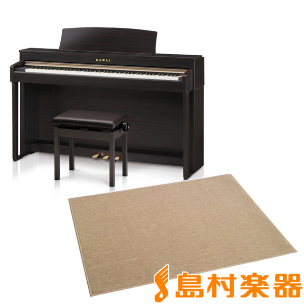 KAWAI CN37R カーペット(大)セット 電子ピアノ 88鍵盤 【カワイ】【配送設置無料・代引き払い不可】【別売り延長保証対応プラン:D】