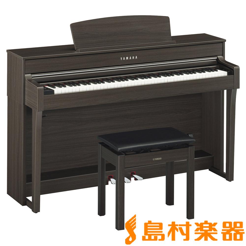 YAMAHA CLP-645DW ダークウォルナット調 電子ピアノ クラビノーバ 88鍵盤 【ヤマハ CLP645】【配送設置無料・代引き払い不可】【別売り延長保証対応プラン:C】