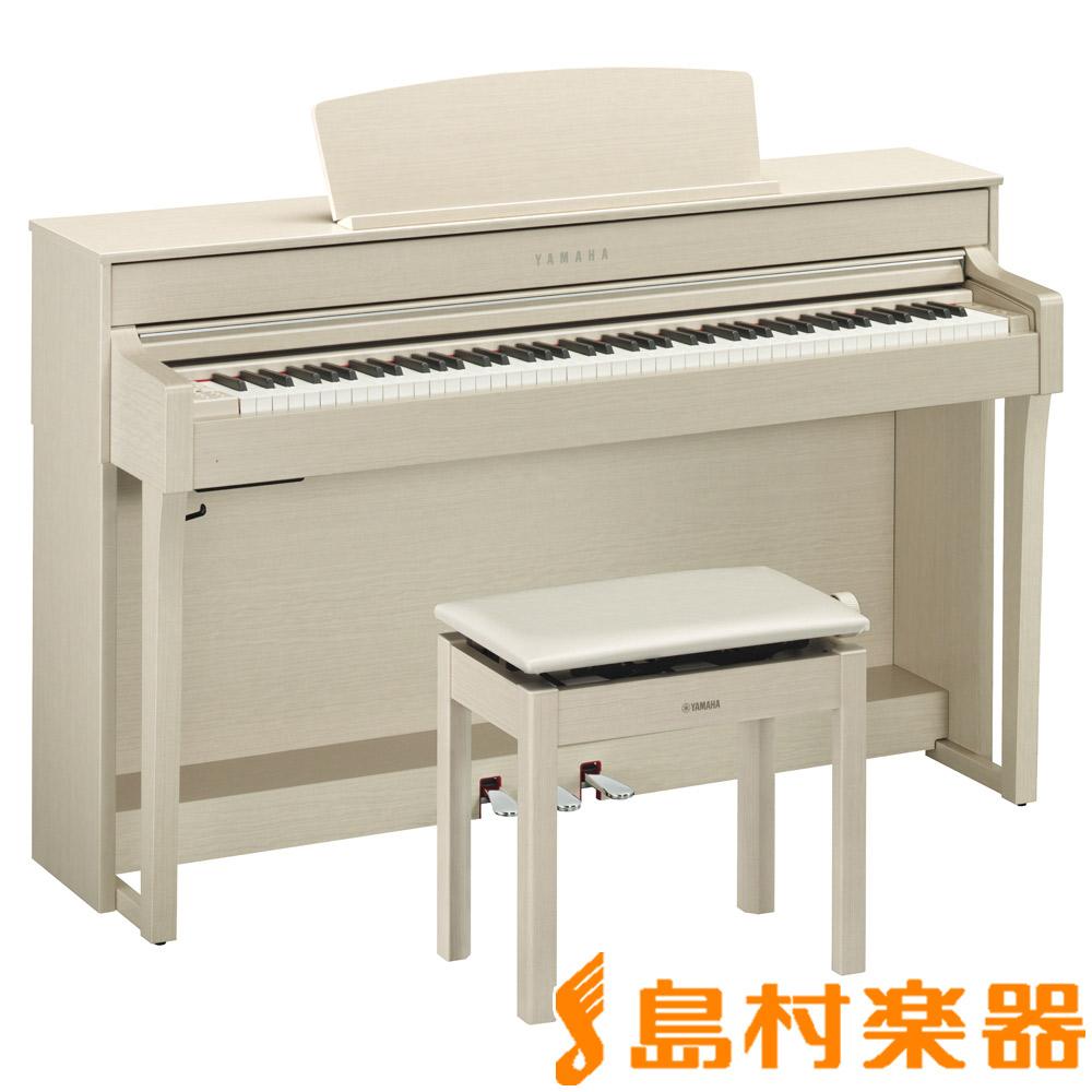 YAMAHA CLP-645WA ホワイトアッシュ調 電子ピアノ クラビノーバ 88鍵盤 【ヤマハ CLP645】【配送設置無料・代引き払い不可】【別売り延長保証対応プラン:C】